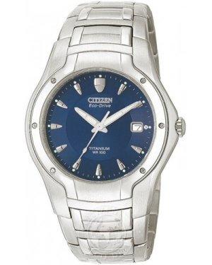 Mens Citizen Titanium Eco-Drive Watch BM0900-51L