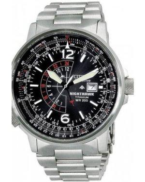 Mens Citizen Titanium Eco-Drive Watch BJ7000-52E