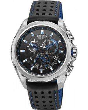 Mens Citizen Proximity Bluetooth Chronograph Eco-Drive Watch AT7030-05E
