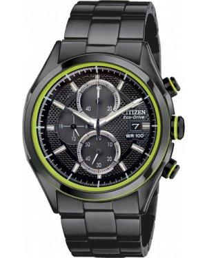 Mens Citizen Drive Chronograph Eco-Drive Watch CA0435-51E