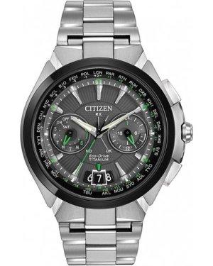 Mens Citizen Satellite Wave Ti Titanium Eco-Drive Watch CC1084-63E