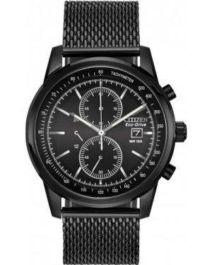 Mens Citizen Sports Chronograph Eco-Drive Watch CA0338-57E