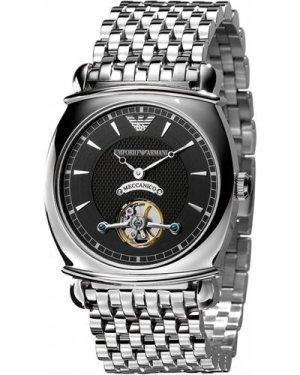 Mens Emporio Armani Meccanico Automatic Watch AR4636