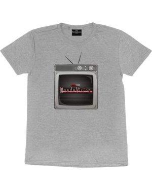 Marvel WandaVision TV Logo Women's Boyfriend Fit T-Shirt