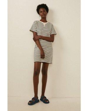 Womens Stripe T Shirt Dress