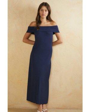 Womens Bardot Midi Dress