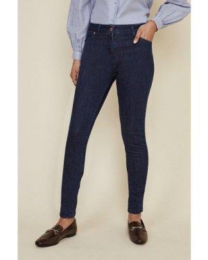 Womens Jade Organic Mid Rise Skinny Jean