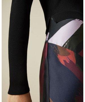 Amber Knit Top Midi Dress
