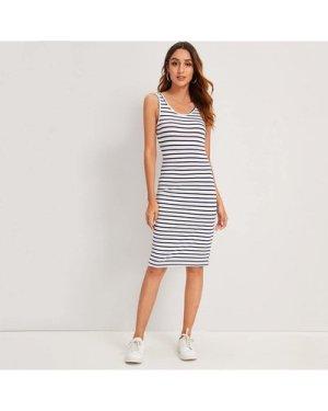 Striped Tank Bodycon Mini Dress