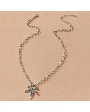 1pc Maple Leaf Charm Necklace