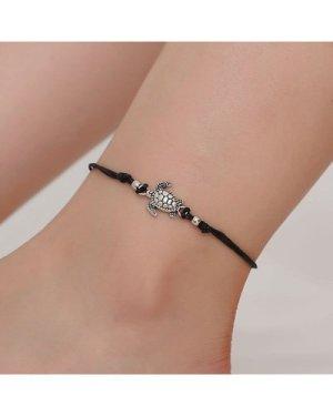 Tortoise Detail Anklet