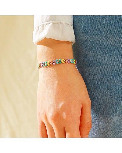 Colorful Chain Bracelet 1pc