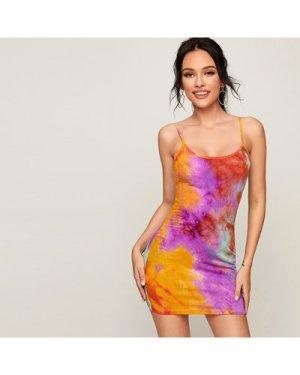Tie Dye Slip Dress