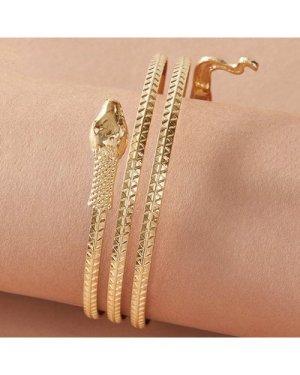 1pc Snake Shaped Winding Bracelet