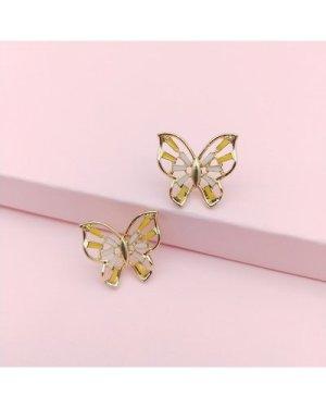 Butterfly Shaped Stud Earrings
