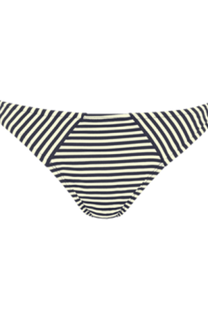 holi vintage tie and bow briefs |  blue-ecru - M