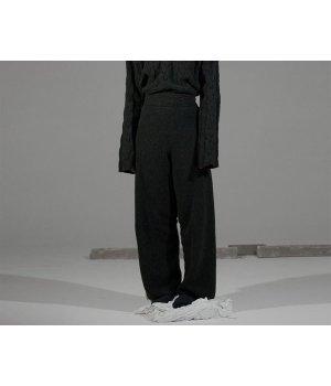 Baserange Steed Knit Pants - Charcoal