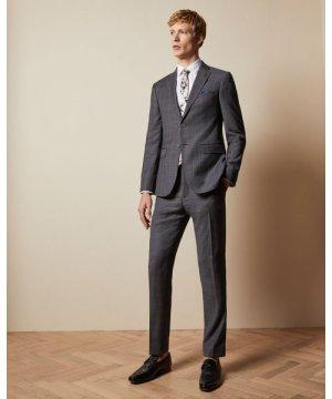 Performance Check Suit Jacket