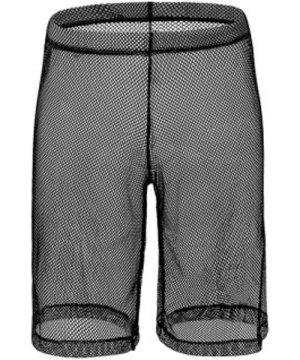Sexy Sheer Mesh High Waist Shorts