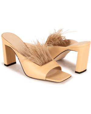Isa Sandal Cashew Feathers