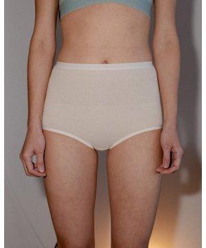 Highwaist Bell Pants - Cotton Rib
