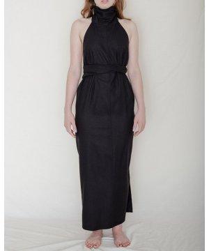 Napkin Dress - Raw Silk