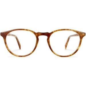 Butler Narrow eyeglasses in Butterscotch Tortoise (Non-Rx)