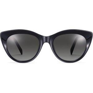 Leta eyeglasses in Jet Black (Non-Rx)