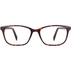 Nelle eyeglasses in Fig Tortoise (Non-Rx)