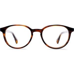 Watts Eyeglasses in Sugar Maple Non-Rx
