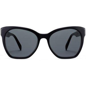 Rhea sunglasses in Jet Black (Non-Rx)