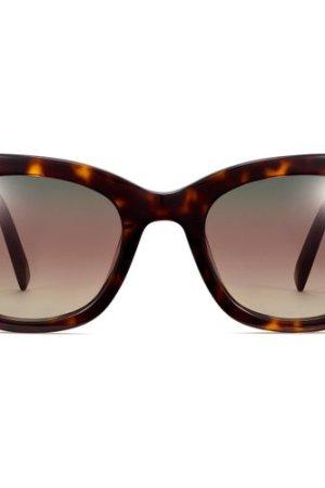 Gemma sunglasses in Cognac Tortoise (Non-Rx)