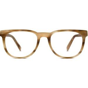 Carver Eyeglasses in Oak Resin Non-Rx