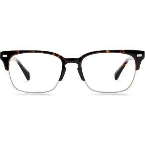 Ames Eyeglasses in Whiskey Tortoise Non-Rx