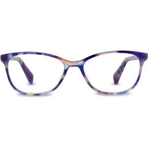 Daisy Wide Eyeglasses in Aurelia Tortoise Non-Rx