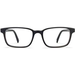 Crane eyeglasses in Black Matte Eclipse (Non-Rx)
