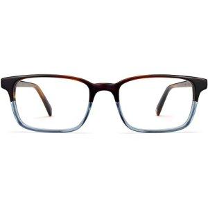 Wilkie Extra Wide eyeglasses in Eastern Bluebird Fade (Non-Rx)