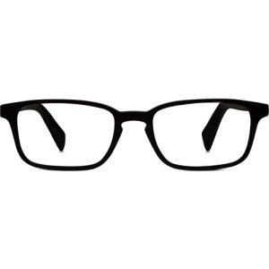 Hardy Eyeglasses in Jet Black Non-Rx