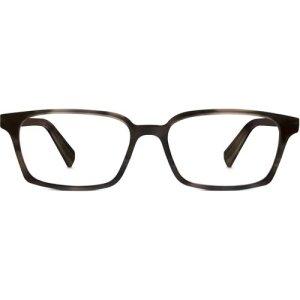 Morris Eyeglasses in Greystone Non-Rx