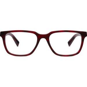 Gilbert Eyeglasses in Scarlet Tortoise Non-Rx