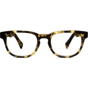 Preston Eyeglasses in Gimlet Tortoise - Non-Rx
