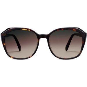 Nancy LBF sunglasses in cognac tortoise (Non-Rx)