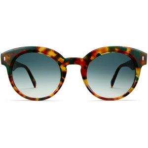 Elle sunglasses in Basil Tortoise Fade (Non-Rx)