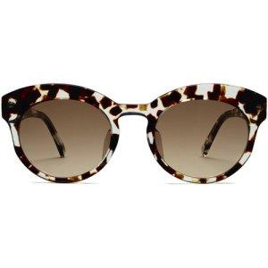 Clementine LBF sunglasses in Espresso Tortoise (Non-Rx)