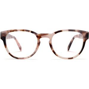 Hewitt eyeglasses in Blush Tortoise (Non-Rx)