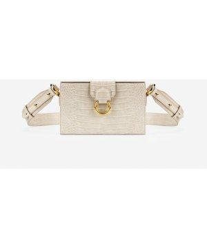 Grace Box Bag - Ivory  Croc