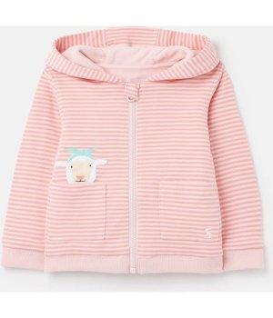 Joules Babys Tenley Character Zip Sweat 0-24 Months - PINK SHEEP