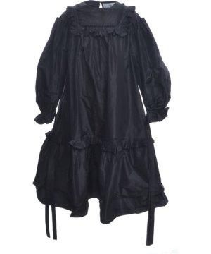 Pleated Victorian Taffeta Dress - Last one (6) by Natalie B Coleman