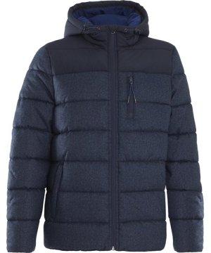 Weird Fish Laurent Puffa Jacket Ensign Blue Size 2XL