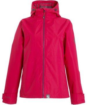Weird Fish Tia Waterproof Jacket Dark Pink Size 18